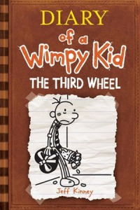 Diary of a Wimpy Kid #7 The Third Wheel Jeff Kinney