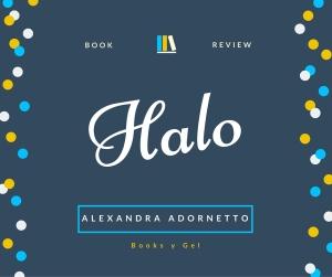 Book Review Halo Alexandra Adornetto Books y Gel