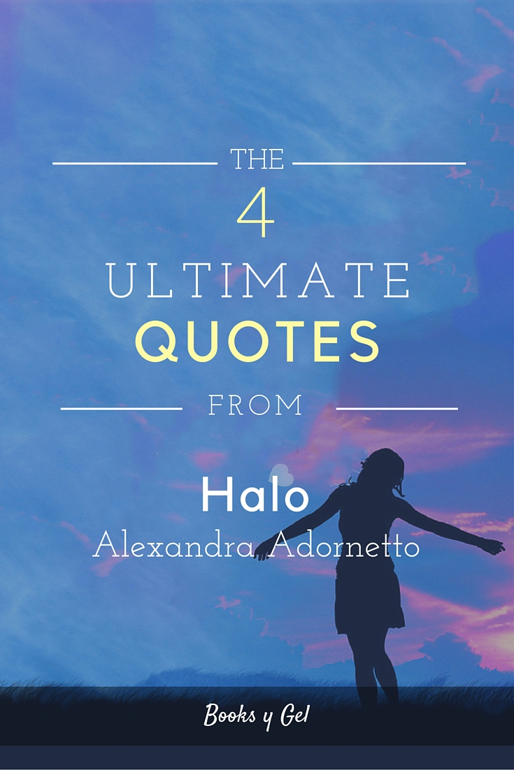Halo Alexandra Adornetto quotes